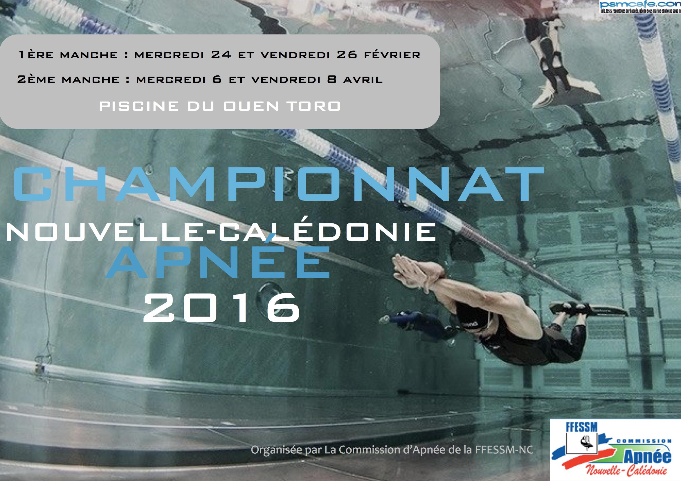 Chanpionnat Apnee NC 2016